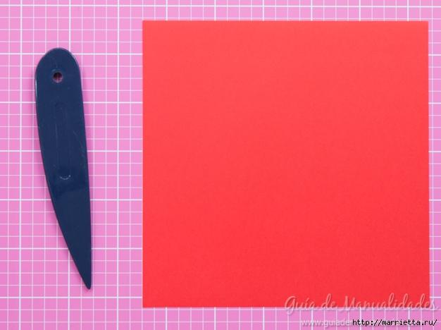 Крылатые валентинки в технике оригами из бумаги (2) (626x468, 152Kb)