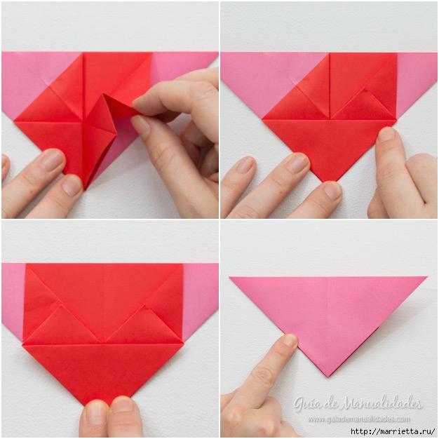 Крылатые валентинки в технике оригами из бумаги (6) (626x626, 181Kb)