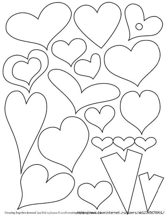 Сердце из фетра своими руками выкройки