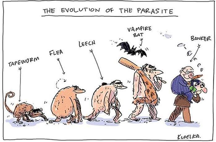 20 сатирических иллюстраций на тему эволюции
