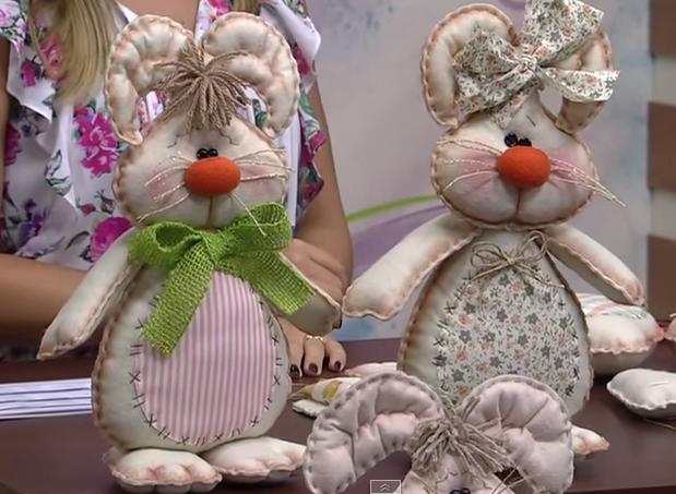 Шьем зайцев и кроликов. Выкройки (4) (619x453, 431Kb)