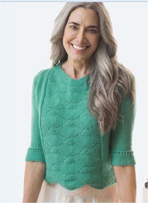 Пуловер с рукавом реглан
