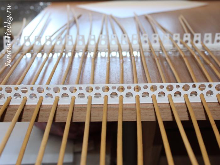 Как сделать станок для плетения из газетных трубочек 185