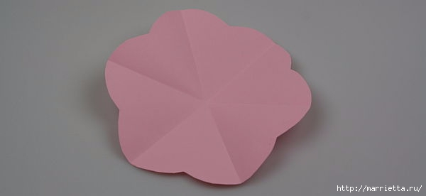 Творчество с детьми. Цветочки в технике оригами (3) (600x276, 22Kb)