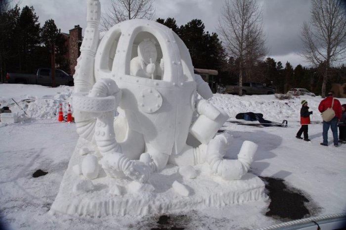 скульптуры из снега 1 (700x466, 217Kb)