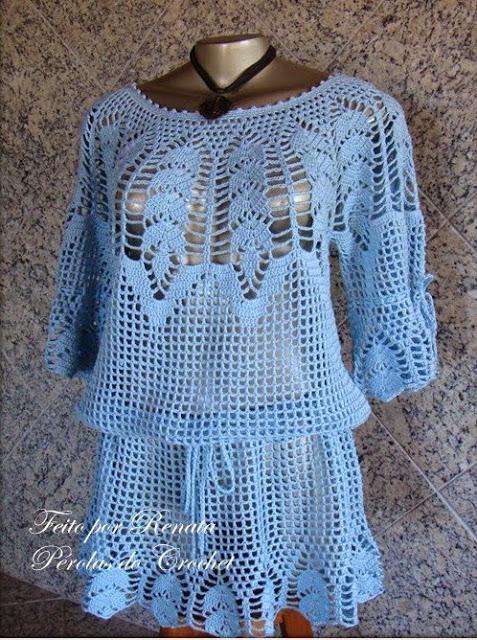 blusa de croche com grГЎfico (5) (477x640, 411Kb)