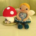 ������ Little-Fairy-her-toadstool (238x240, 62Kb)