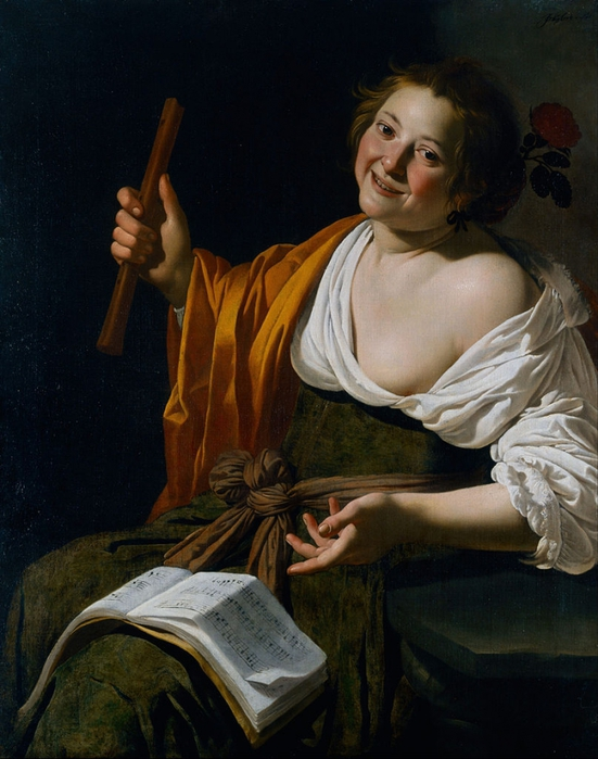4000579_807pxJan_van_Bijlert__Girl_with_a_flute__Google_Art_Project (551x700, 266Kb)