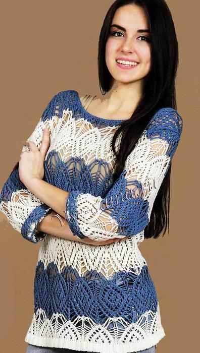Azhurnyi-pulover-v-polosku-foto (396x700, 54Kb)