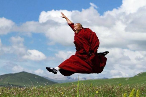 тибетский монах (580x386, 46Kb)