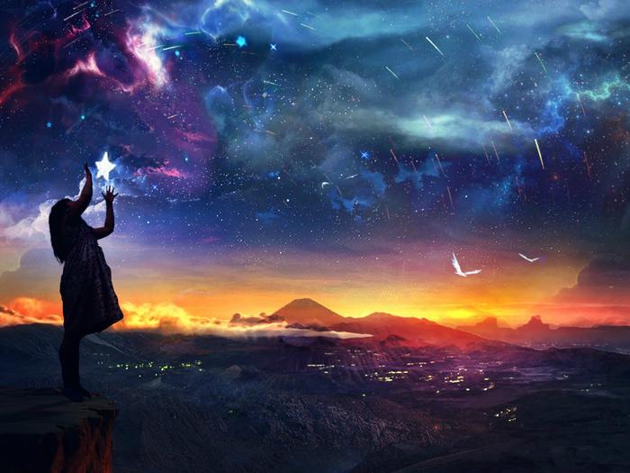 zvezdy-nebo-zakat-devochka[1] (700x525, 416Kb)