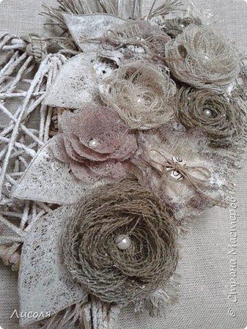 Цветы из мешковины и льна своими руками