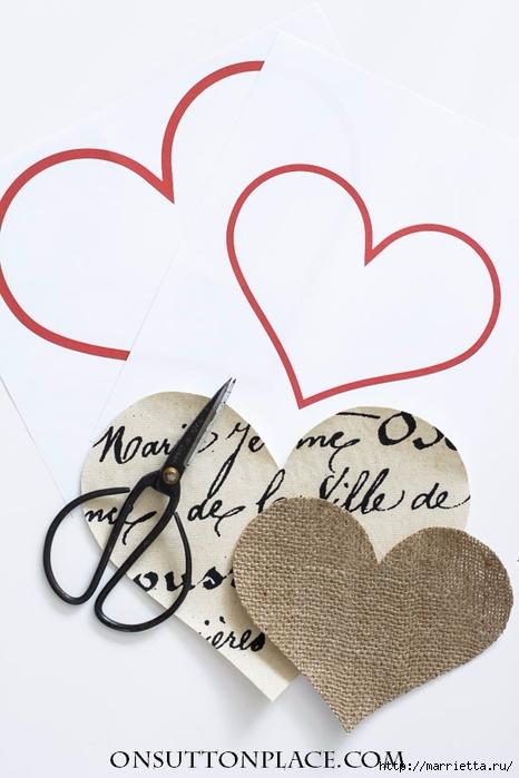Винтажная подушка с сердечками. Пуговицы и аппликация (5) (466x700, 173Kb)
