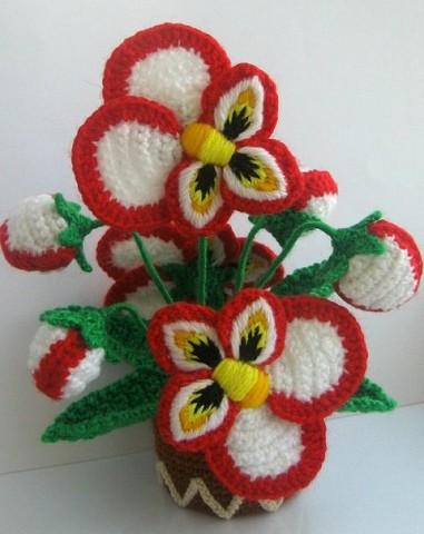 цветы крючком (381x480, 44Kb)