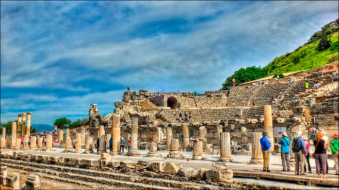 Агора и малый теаотр Эфеса