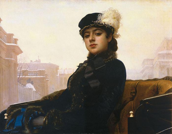 001-Kramskoy_Portrait_of_a_Woman (700x544, 377Kb)