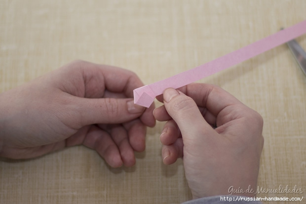 Бумажные украшения - звездочки в технике оригами (13) (620x413, 99Kb)
