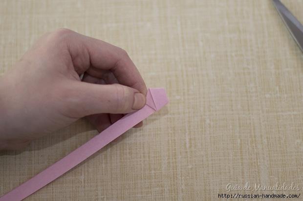 Бумажные украшения - звездочки в технике оригами (15) (620x413, 127Kb)