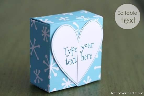 Шаблон сердечной коробочки для подарка (4) (550x366, 60Kb)