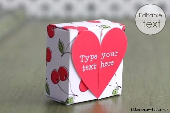 Шаблон сердечной коробочки для подарка (6) (550x366, 68Kb)