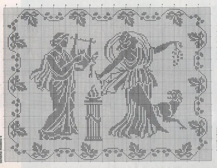Схема вышивки гречанки 79
