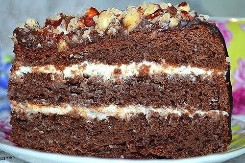 шоколадный торт (500x333, 261Kb)