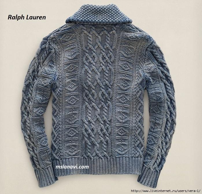 Вязаный-жакет-для-мужчин-от-Ralph-Lauren-спинка (700x671, 433Kb)