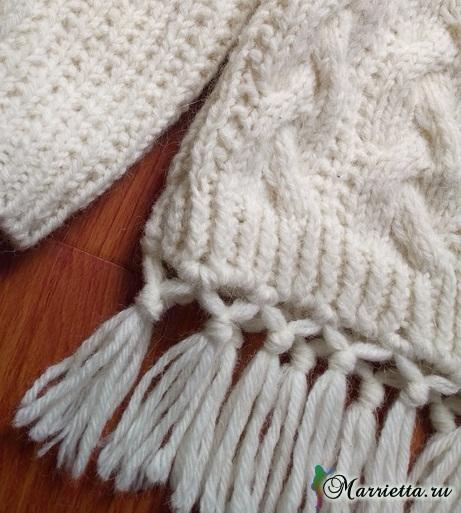Пуловер с бахромой для маленькой принцессы (1) (461x513, 248Kb)