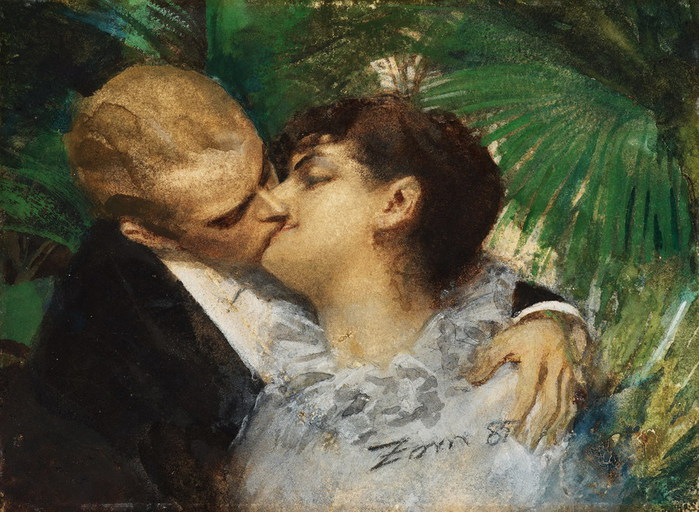 Anders Zorn  1860-1920  The Embrace  1885 (700x512, 124Kb)