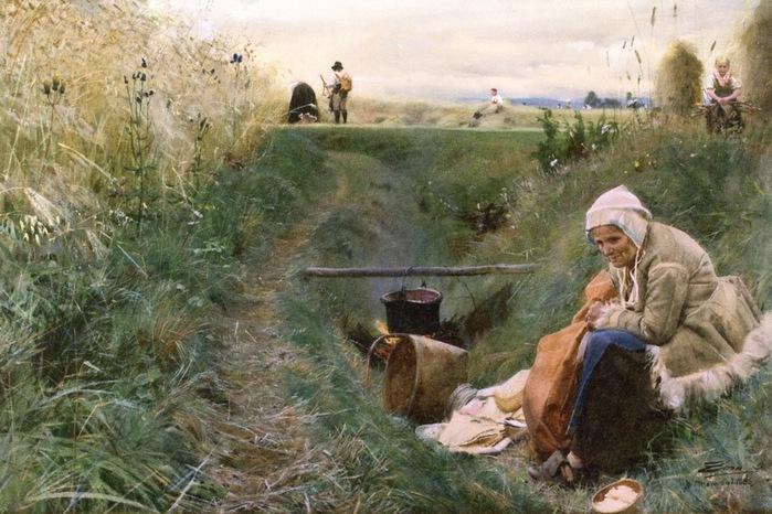 Хлеб наш насущный, 1886 (700x466, 135Kb)