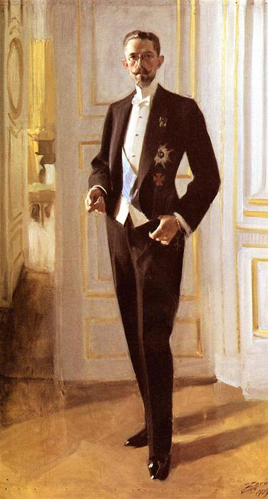 Густав V   1909 (376x700, 42Kb)