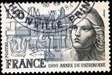 2.5.4.56.2 1х33 Annee Patrimoine Оригинальный штемпель (159x107, 20Kb)