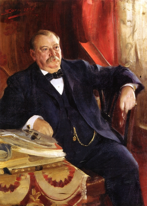 Grover Cleveland ,1899 (500x700, 268Kb)