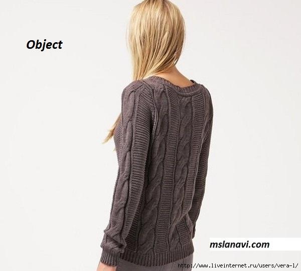 Вязаный-пуловер-спицами-от-Object-OBJRANDY-спинка (600x539, 109Kb)