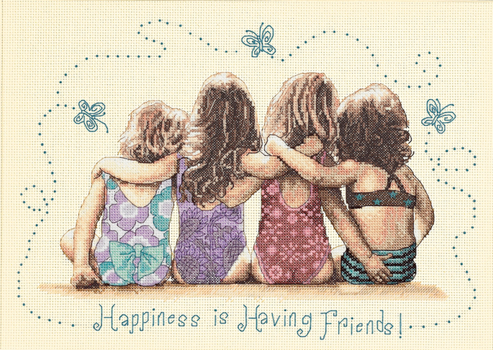 Happiness is having friends (700x498, 630Kb)