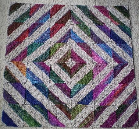 针织:弗兰基布朗的有趣创意毯子(两条) - maomao - 我随心动