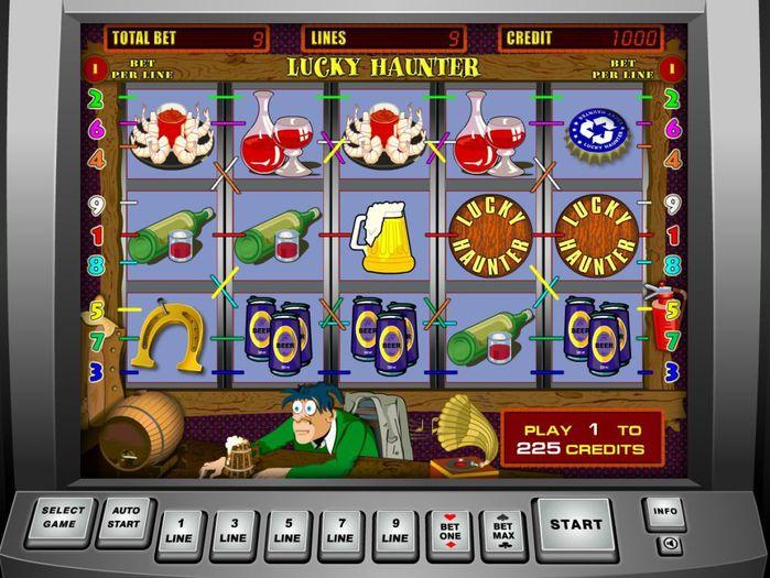 Игровой автомат «Lucky Haunter»