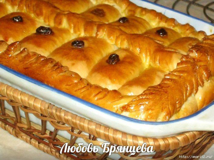 Рецепт сладких пирогов с начинкой