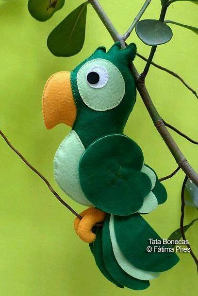 Выкройки птичек для пошива игрушки (1) (408x608, 217Kb)
