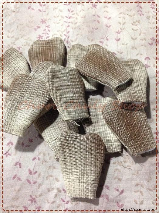 Текстильная брошь с цветами из ткани. Мастер-класс (1) (524x700, 396Kb)