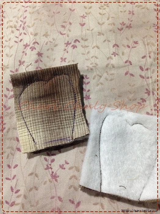 Текстильная брошь с цветами из ткани. Мастер-класс (18) (524x700, 389Kb)