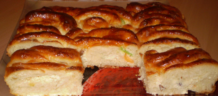 пирог с творогом(700x307, 336Kb)