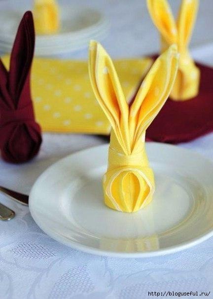 салфетка кролик