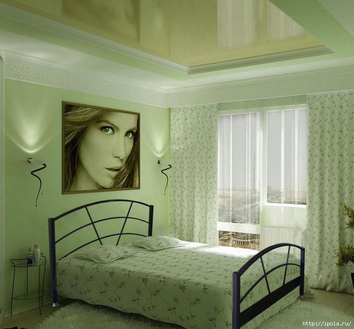"""alt=""""Все оттенки зелёного в твоей спальне""""/2835299_ (700x650, 182Kb)"""