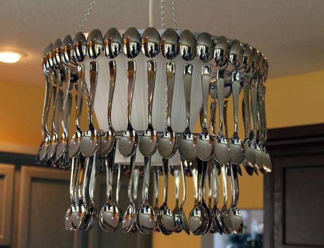 Люстра для кухни фото своими руками