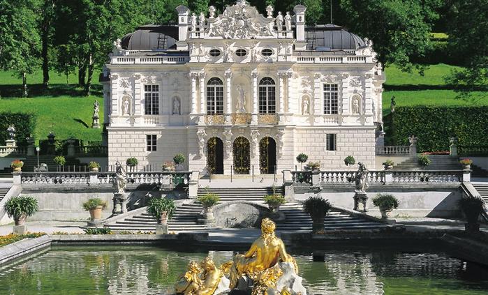 Замок Линдерхоф германия 2 (700x423, 415Kb)