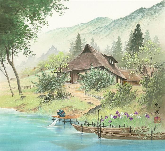 японская живопись/2976276_71d9ec3239c8 (700x638, 389Kb)
