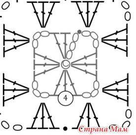 2014-10-12 12-23-49 Плед из цветных квадратов. Мастер-класс мотива и соединения мотивов. - Все в ажуре... (вязание крючком) (276x273, 64Kb)