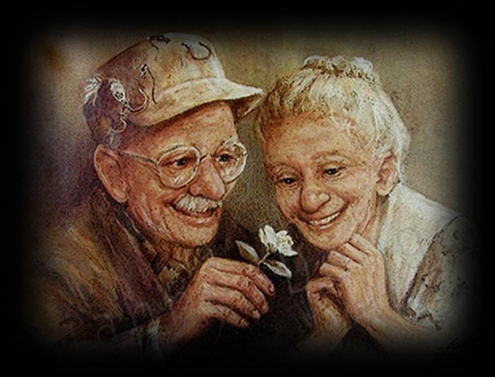 Старая бабка сосет фото у деда 3 фотография
