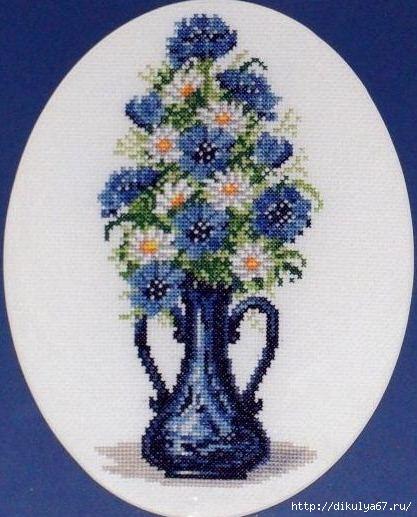 ваза с цветами1 (417x517, 176Kb)